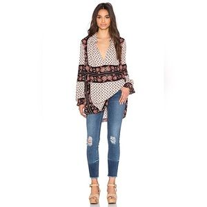 Free People Changing Times Tunic Top